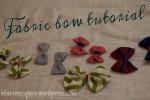 No-sew fabric bows DIY