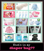 What's in my diaper bag? Two Under Two