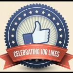 Celebrating First 100 Likes on Facebook