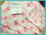 Ireeya  Cotton Mulmul Receiving Blanket Review