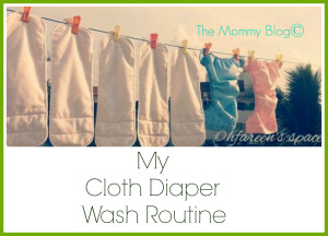 cloth diaper wash routine india