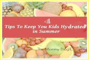 4 Easy Tips To Keep Your Kids Hydrated In Summer