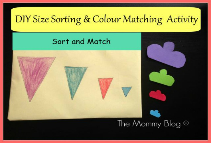 Montessori Inspired Activities for Toddlers #3 | Size Sorting & Colour Matching
