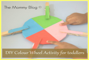 Montessori Inspired Activities for Toddlers #4 | Match The Colour | DIY Colour Wheel
