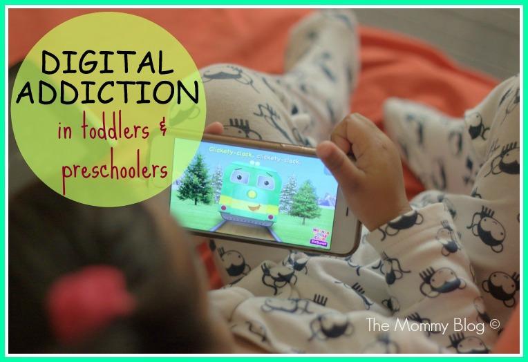 digital addiction in children signs india
