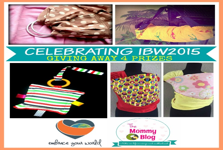 Celebrating International Babywearing Week 2015 + HUGE GIVEAWAY { CLOSED }