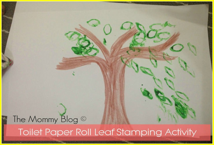 Montessori Inspired Activity #5 | Craft – Easy Stamping Activity for Toddlers & Pre-schoolers
