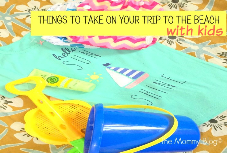 things to take to the beach with kids