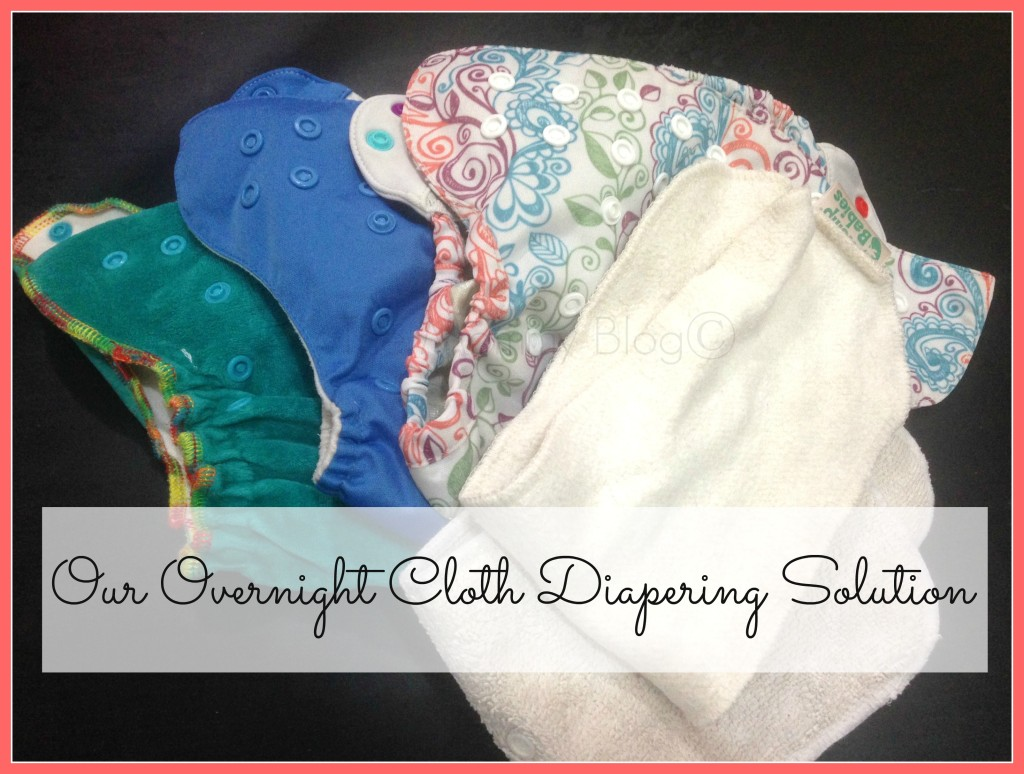 cloth diapering solution for night time india