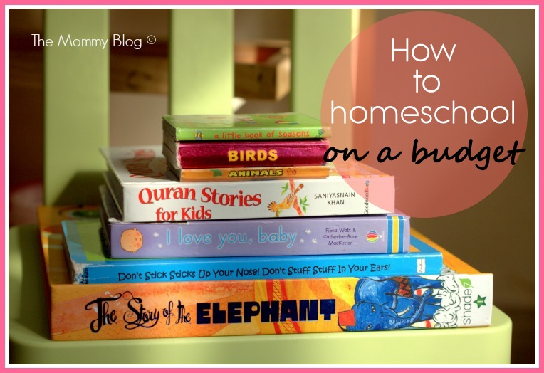 how to homeschool on a budget india