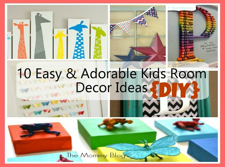 kids room decor DIY india featu