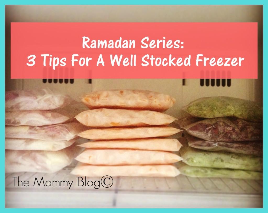 ramadan tips Freezer tips