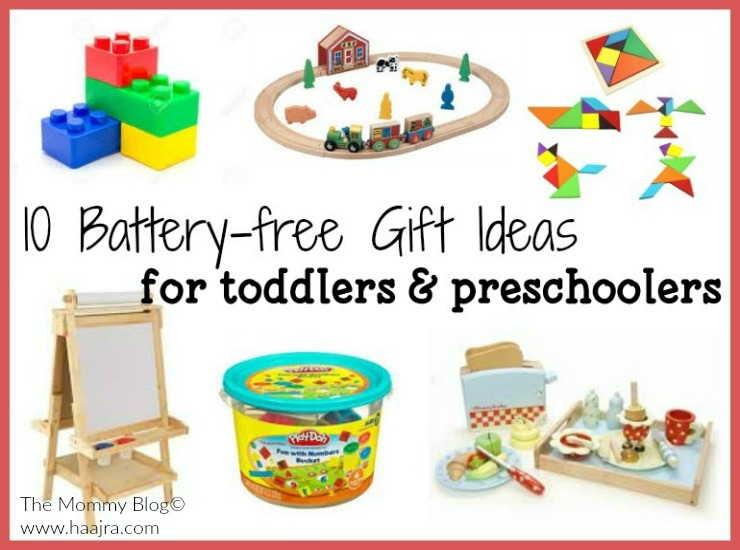Battery free Gift Ideas for toddlers and preschoolers india