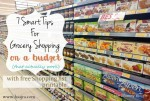7 Smart Tips For Grocery Shopping On A Budget (That Actually Work) + Free Grocery List Printable