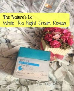 The Nature's Co White Tea Night Cream