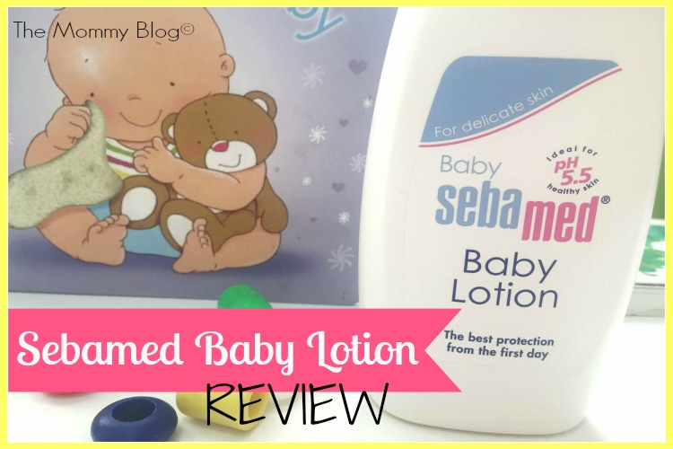sebamed baby lotion review