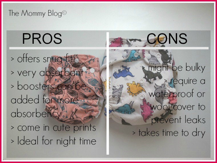 fitted diaper pros and cons