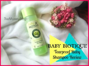 Baby Biotique Tearproof Baby Shampoo Review