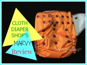 Cloth Diaper Shop's Marvy All-In-Two Diaper Review