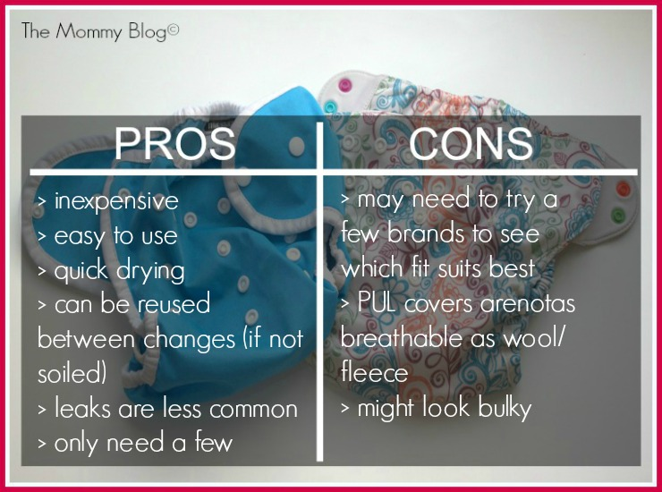diaper covers pros nd cons