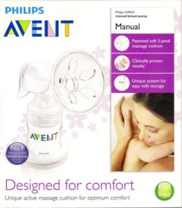 philips avent manual breast pump review