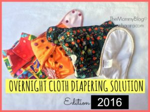 Our Night Time Cloth Diaper Solutions