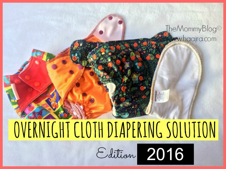 night time cloth diaper solution india