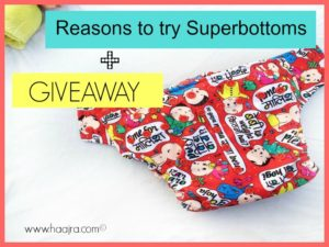 Why You Need To Try Superbottoms Cloth Diapers + Giveaway