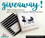 Mother's Day Giveaway – Win TWO I Am A Mom Planners