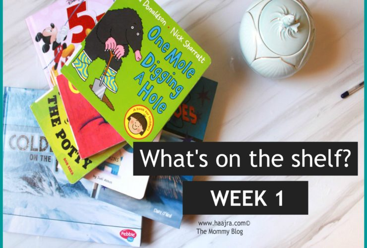 What's on the shelf | Week 1 | Book Recommendations for children