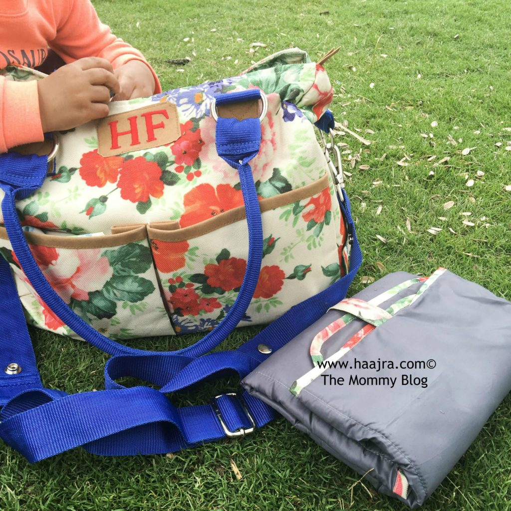 BabyJalebi diaper bag review