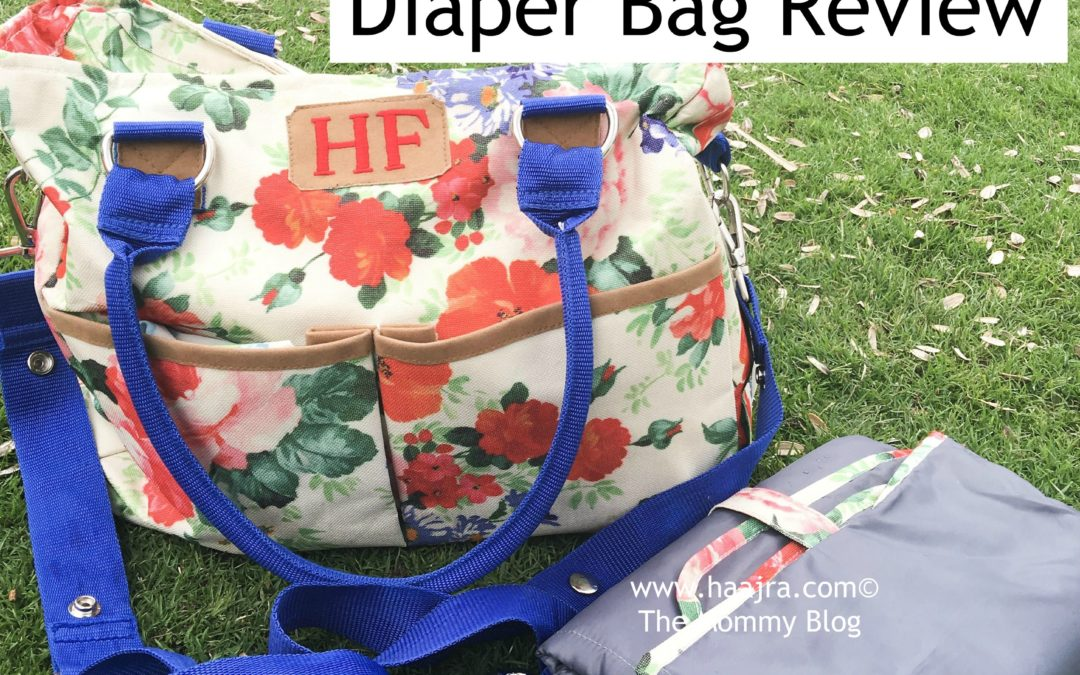 BabyJalebi Diaper Bag Review