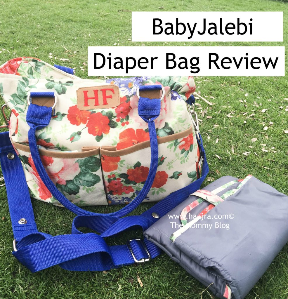 BabyJalebi Diaper bag review india diaper bags
