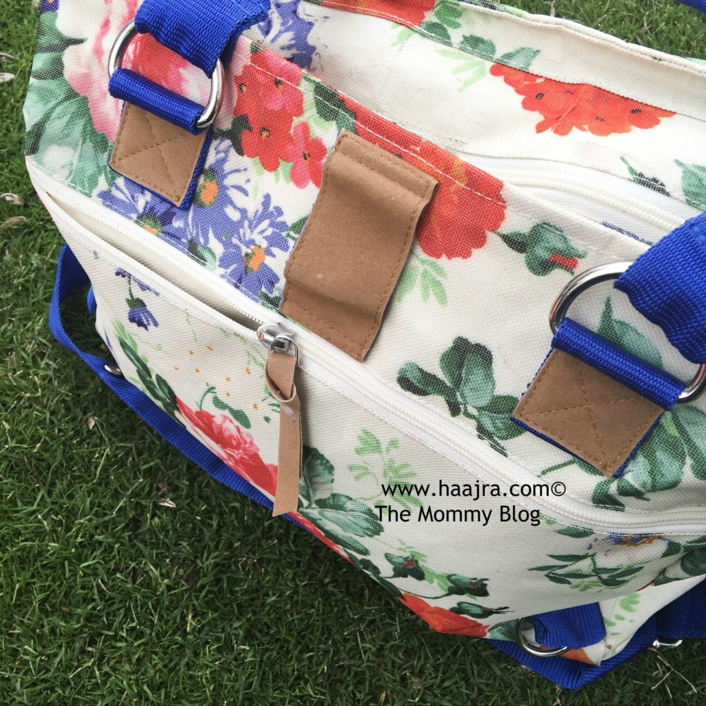 Baby Jalebi diaper bag review