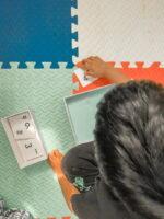 DIY Coloured Salt Writing Tray   Montessori On Budget